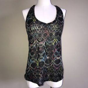 Free People Racerback Tank Top Size Small